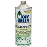 MOLYGREEN SELECTION 0W-20 (1л) Масло моторное синтетическое