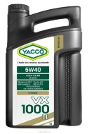 YACCO VX 1000 LL 5W-40 (5л) Масло моторное