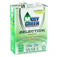 MOLYGREEN SELECTION 0W-20 (4л) Масло моторное синтетическое