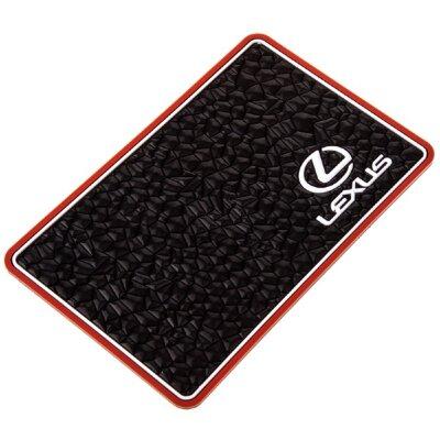 Коврик панели Lexus 200*125*3мм (противоскольз., плоский под камень)