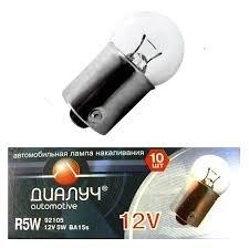 Лампа авто ДиаЛУЧ R5W 12V 5W BA15s Стоп/Поворот/Задний ход (#92105)