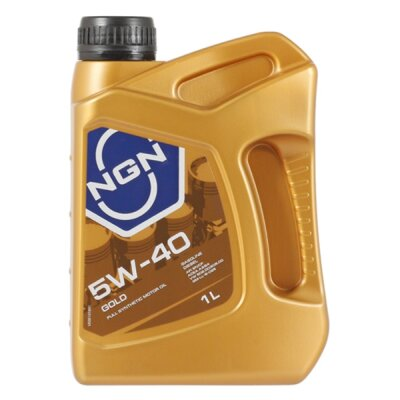 NGN GOLD 5W-40 (1л) Масло моторное синтетическое