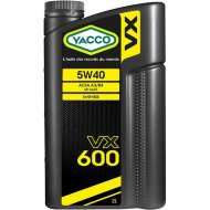 YACCO VX 600 5W-40 (2л) Масло моторное