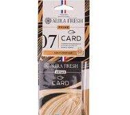 "Аром. AURA FRESH PRIME CARD 7 ""AZZARO-WANTED"" - картон"
