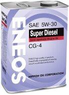 ENEOS CG-4 Super Diesel 5W-30 (4л) Масло моторное полуситетическое