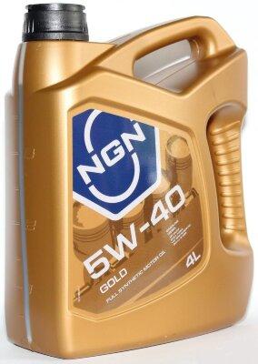 NGN GOLD 5W-40 (4л) Масло моторное синтетическое
