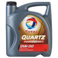 TOTAL Quartz Energy 9000 0W-30 (4л) Масло моторное синтетическое