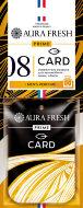 """Аром. AURA FRESH PRIME CARD 8 """"LACOSTE-LACOSTE ESSENTIAL"""" - картон"""