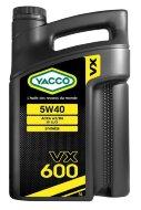 YACCO VX 600 5W-40 (5л) Масло моторное