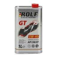 ROLF GT 5W40 (1л) Масло моторное синтетическое