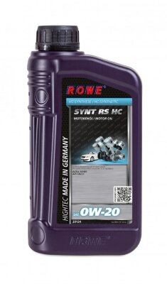 ROWE HIGHTEC SYNT RS HC 0W-20  (1л) Масло моторное синтетическое