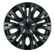 """Колпаки Лион 14"""" (4шт) на все модели авто черный глянец"""
