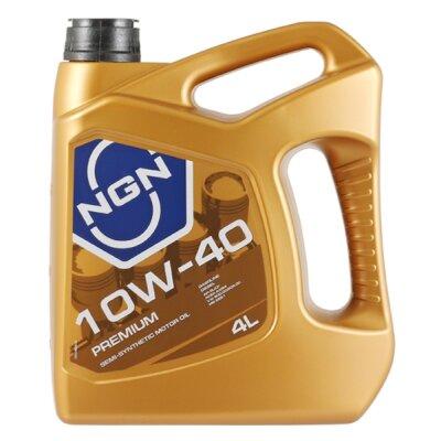 NGN PREMIUM 10W-40 (4л) Масло моторное полусинтетическое