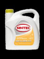 Антифриз SINTEC Gold (5кг) -40 желтый