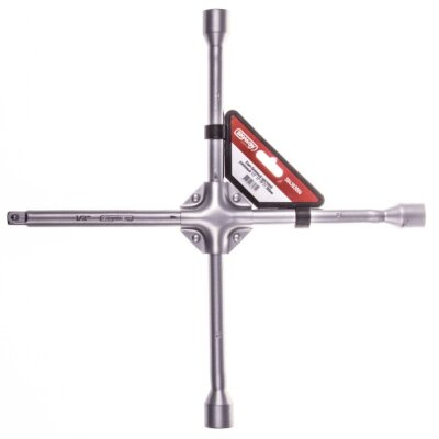 Ключ балонный крестовой 17-19-21-1/2 SKYWAY усиленный 380мм