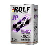 ROLF JP 0W30 (4л) Масло моторное синтетическое