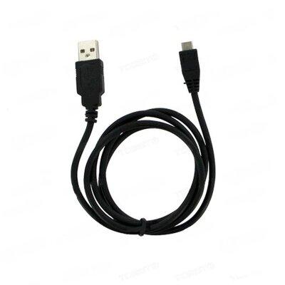 Дата-кабель OLMIO microUSB 1м (чёрный) ПР033938