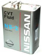 NISSAN CVT Fluid NS2 (4л) Жидкость для вариаторов