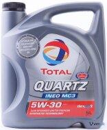 TOTAL Quartz Ineo MC3 5W-40 (1л) Масло моторное синтетическое