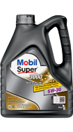 Mobil Super 3000 X1 Formula 5W30 (4+1л) FE Масло моторное синтетическое