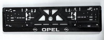 """Рамка для номера  рельефная """"Opel"""""""