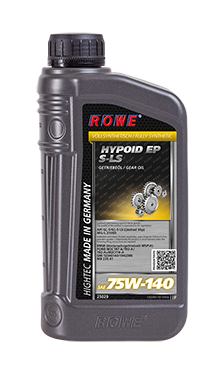 ROWE HIGHTEC HYPOID EP 75W-140 S-LS (1л) Масло транс. API GL-5/GL-5 LS (Limited Slip)