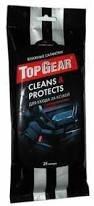 Салфетки влажные TOP GEAR 19,5*10см для ухода за кожей авто 25шт