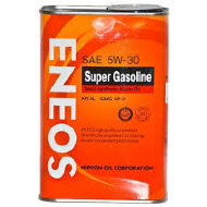 ENEOS Super Gasoline 5W-30 (4л) API SL GF-3 Масло моторное полусинтетическое