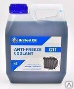 UNITED ANTI-FREEZE G11+ BLUE (2л) Жидкость охлаждающяя