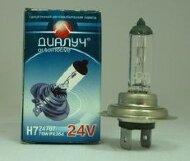 Лампа авто ДиаЛУЧ H7 24V 70W PX26d Головного света (#24707)