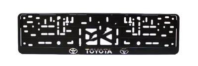 """Рамка для номера  рельефная """"Toyota"""""""