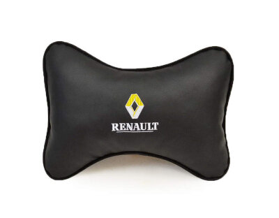 Подушка подголовник экокожа RENAULT