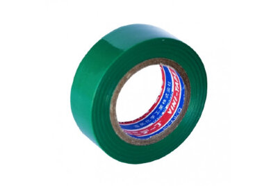 Лента изоляционная VINI-TAPE (19мм) виниловая/зелёная