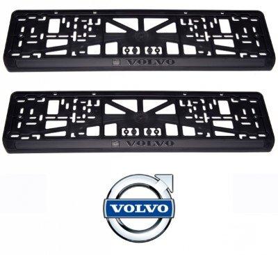 """Рамка для номера  рельефная """"Volvo"""""""