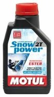 Motul Snowpower Synthetic 2T (1л) Масло моторное
