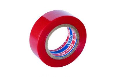 Лента изоляционная VINI-TAPE (19мм) виниловая/красная