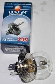 Лампа авто ДиаЛУЧ R2 24 V  55/50W P45t Фарная (24255)