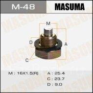 Пробка Masuma маслосливная M_48 Toyota с магнитом