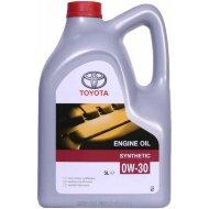 TOYOTA 0W30 (5л) Масло моторное синтетическое (пластик)