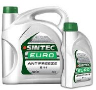 Антифриз SINTEC Евро  (5кг) зелёный (Акция 5л по цене 4л)