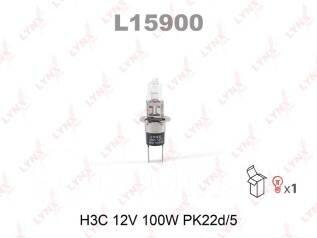 "Лампа авто ""LYNXauto"" L15900 H3C 12V 100W PK22d/5"