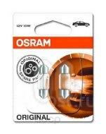 "Лампа авто ""Osram""  C5W 12V 10W  SV8.5-8 ORIGINAL LINE качество ориг. з/ч (OEM) 6438-02B (1 к-т; 2ш)"