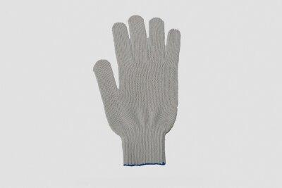 Перчатки  белые х/б ЛЮКС (размер 9)
