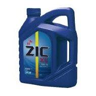 ZIC X5 10W-40 (6л) SM Масло моторное полусинтетическое (ZIC A)