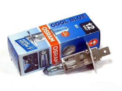 """Лампа авто """"Osram"""" H1 12V 55W P14.5s (#64150CB)"""