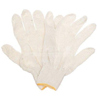 Перчатки  Х/Б 5-нитка (10/400) белый