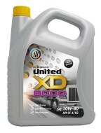 UNITED XD 8000 10W-40  (4л) CF-4/SG Масло моторное