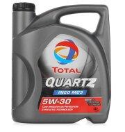 TOTAL Quartz Ineo MC3 5W-30 (4л) Масло моторное синтетическое
