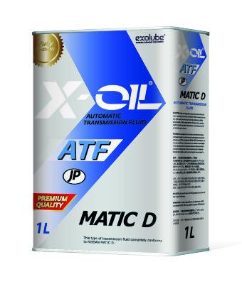 X-OIL ATF MATIC D (1л) Жидкость для АКПП