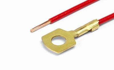 АХ-388-01 Контакт кольцевой D=5,2 мм, обжатый с пр